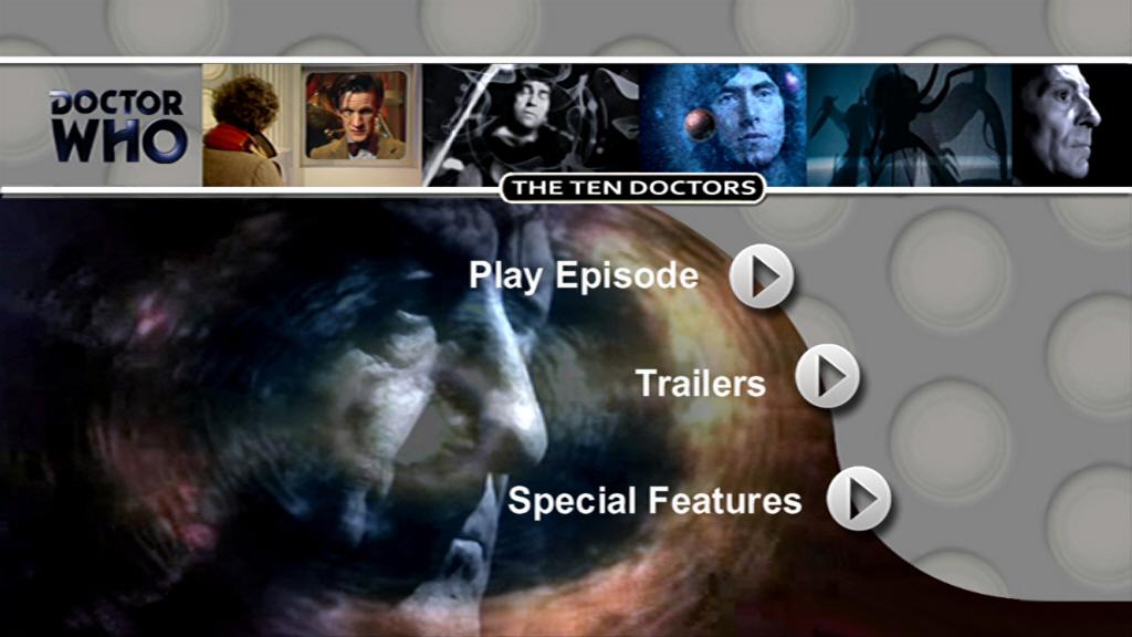 The Ten Doctors DVD MENU