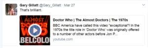 Gillatt Tweet